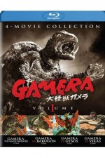 Jaquette Gamera: 4 - Movie Collection, Vol. 1