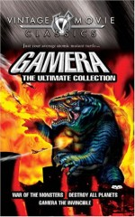 Jaquette Gamera : The Ultimate Collection
