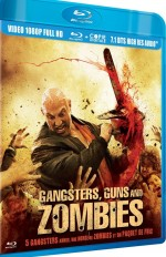 Jaquette Gangsters, Guns and Zombies  (Blu-ray + Copie digitale)