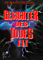 Jaquette Gesichter des Todes III (Cover A) - Limited 111 Edition