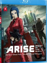 Jaquette Ghost in the Shell Arise - Les Films - Border 1 : Ghost Pain + Border 2 : Ghost Whispers