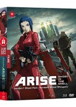 Jaquette Ghost in the Shell Arise - Les Films - Border 1 : Ghost Pain + Border 2 : Ghost Whispers (Combo Blu-ray + DVD)