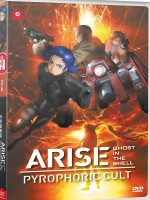 Jaquette  Ghost in the Shell Arise - Pyrophoric Cult