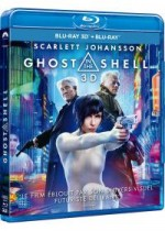 Jaquette Ghost in the Shell (Combo Blu-ray 3D + Blu-ray 2D)