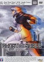 Jaquette GHOST IN THE SHELL STAND ALONE COMPLEX VOL3