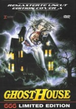 Jaquette GHOSTHOUSE EPUISE/OUT OF PRINT