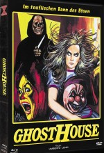 Jaquette Ghosthouse (Mediabook DVD + Bluray Cover B)