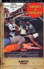 Jaquette Giallo a Venezia (DVD + Bluray)