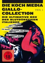 Jaquette Giallo Collection 1 EPUISE/OUT OF PRINT