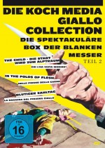 Jaquette Giallo-Collection Teil 2 - Die spektakuläre Box der blanken Messer