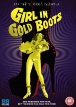 Jaquette Girl in Gold Boots