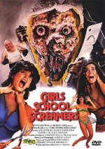 Jaquette Girls School Screamers EPUISE/OUT OF PRINT