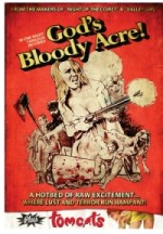 Jaquette God's Bloody Acre / Tomcats EPUISE/OUT OF PRINT