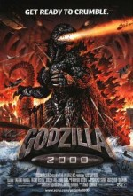 Jaquette GODZILLA 2000 EPUISE/OUT OF PRINT