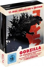 Jaquette Godzilla Collection 11 discs