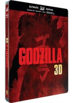Jaquette Godzilla (Édition Ultimate Blu-ray 3D + Blu-ray + DVD + Copie digitale)