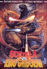 Jaquette Godzilla vs King Ghidorah et Ebirah - Horror of the Deep