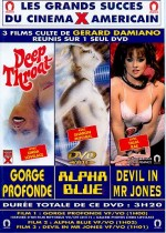 Jaquette Gorge profonde, Alpha blue, Devil in Mr Jones