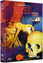 Jaquette Gothic (DVD + BLURAY) - Cover B