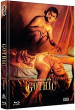 Jaquette Gothic (DVD + BLURAY) - Cover C