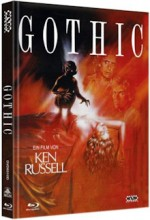 Jaquette Gothic (DVD + BLURAY) - Cover D