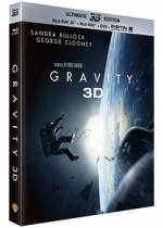 Jaquette Gravity (Ultimate Edition - Blu-ray 3D + Blu-ray + DVD + Copie digitale)