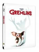 Jaquette Gremlins + Gremlins 2 : La nouvelle g�n�ration (Blu-ray + Copie digitale - �dition bo�tier SteelBook)