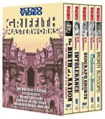 Jaquette Griffith Masterworks: DVD Box Set