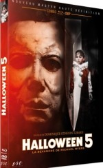 Jaquette Halloween 5: La Revanche De Michael Myers - Edition Limitee Combo Dvd Blu Ray
