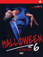 Jaquette Halloween 6 - La Maledizione Di Michael Myers EPUISE/OUT OF PRINT