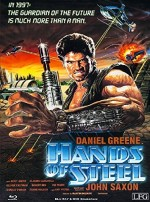 Jaquette Hands of Steel (Blu-ray + DVD) - Cover A