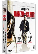 Jaquette Hanzo the Razor Les Griffes de la Justice Coffret 3 dvd EPUISE/OUT OF PRINT