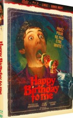 Jaquette Happy Birthday to Me - Édition Collector Blu-ray + DVD + Livret