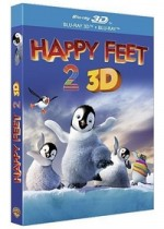 Jaquette Happy Feet 2 (Blu-ray 3D + Blu-ray)