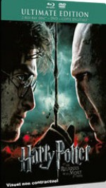 Jaquette Harry Potter et les Reliques de la Mort - 2�me partie (Ultimate �dition - Blu-ray + DVD + Copie digitale) - Blu-ray Disc