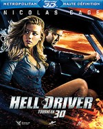 Jaquette Hell Driver 3D
