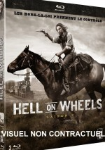 Jaquette Hell on Wheels - Saison 3