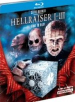 Jaquette Hellraiser 1 - 3 Uncut EPUISE/OUT OF PRINT
