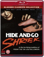 Jaquette Hide and Go Shriek (Blu-ray + DVD)