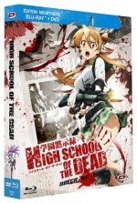 Jaquette High School of the Dead - Intégrale (Édition Meurtrière Blu-ray + DVD)