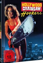 Jaquette Hollywood Chainsaw Hookers - Cover B (DVD + BLURAY)