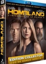 Jaquette Homeland - L'int�grale de la Saison 3 (�dition Collectore)