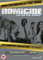 Jaquette Homicide: Life on the Street - The Complete Series EPUISE/OUT OF PRINT