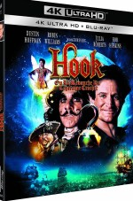 Jaquette Hook, ou la revanche du Capitaine Crochet [4K Ultra HD + Blu-ray]