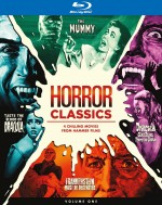 Jaquette Horror Classics, Volume One Collection