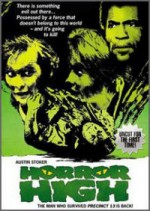 Jaquette Horror High (35th Anniversary Edition) EPUISE/OUT OF PRINT
