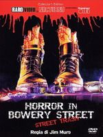 Jaquette HORROR IN BOWERY STREET STREET TRASH COLLECTOR'S EDITION