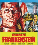 Jaquette Horror Of Frankenstein