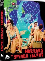 Jaquette Horror of Spider Island