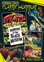 Jaquette Horrors of the Black Museum / Headless Ghost